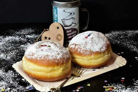 Photo of Fluffy carnival donuts