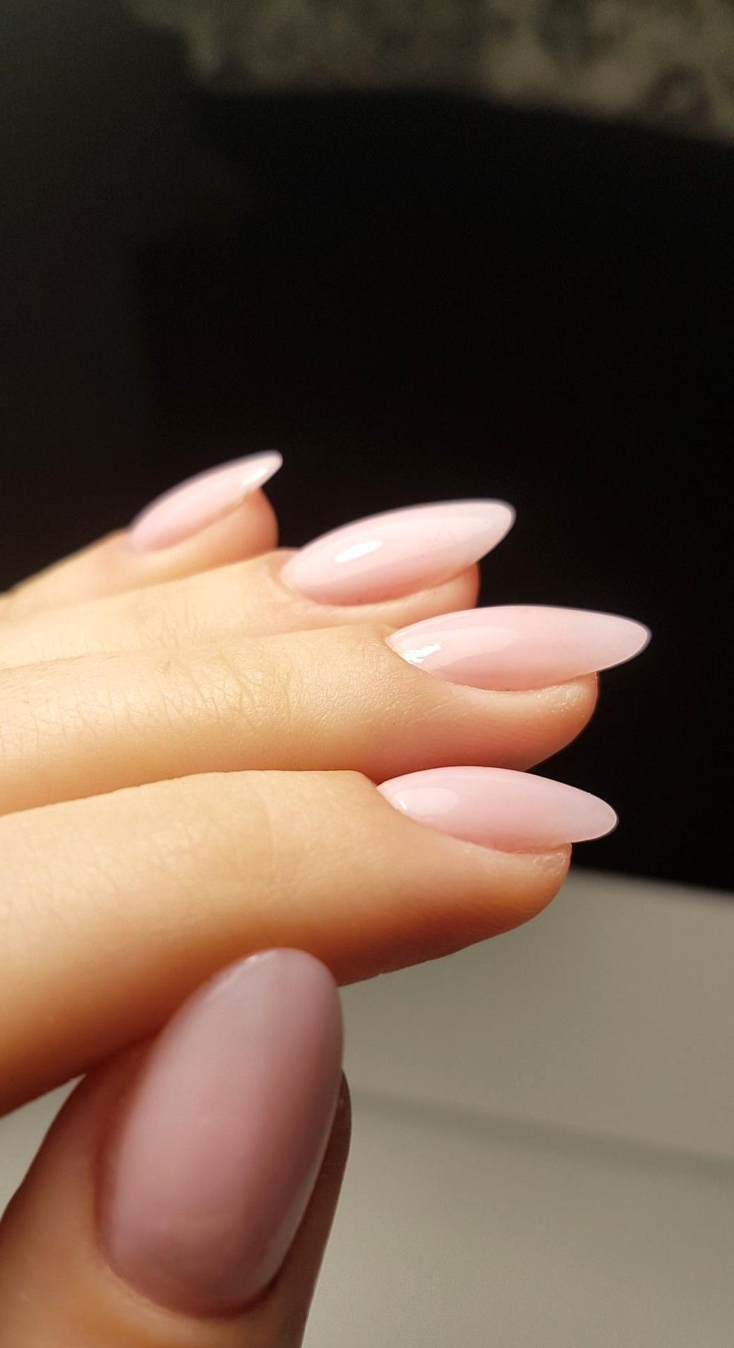 Pnterest Gavdosantos Pntere Gavdosantos Gavdosantos Nte In 2020 Pink Nails Oval Nails Short Acrylic Nails