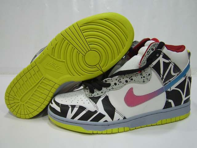 separation shoes 1570e 44bc4 Nike Dunk High Premium SB Thrashin White Black | Nike Dunks ...
