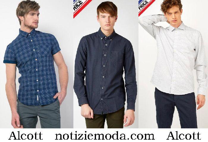 nessuna tassa di vendita materiali superiori scopri le ultime tendenze Camicie Alcott 2018 nuovi arrivi abbigliamento moda uomo ...