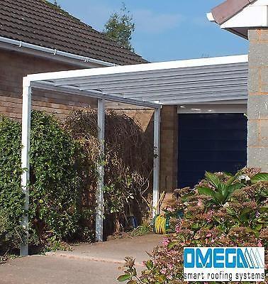 Aluminium CanopyPatio cover Carport Caravan Cover Lean To Smoking Shelter & Aluminium CanopyPatio cover Carport Caravan Cover Lean To ...