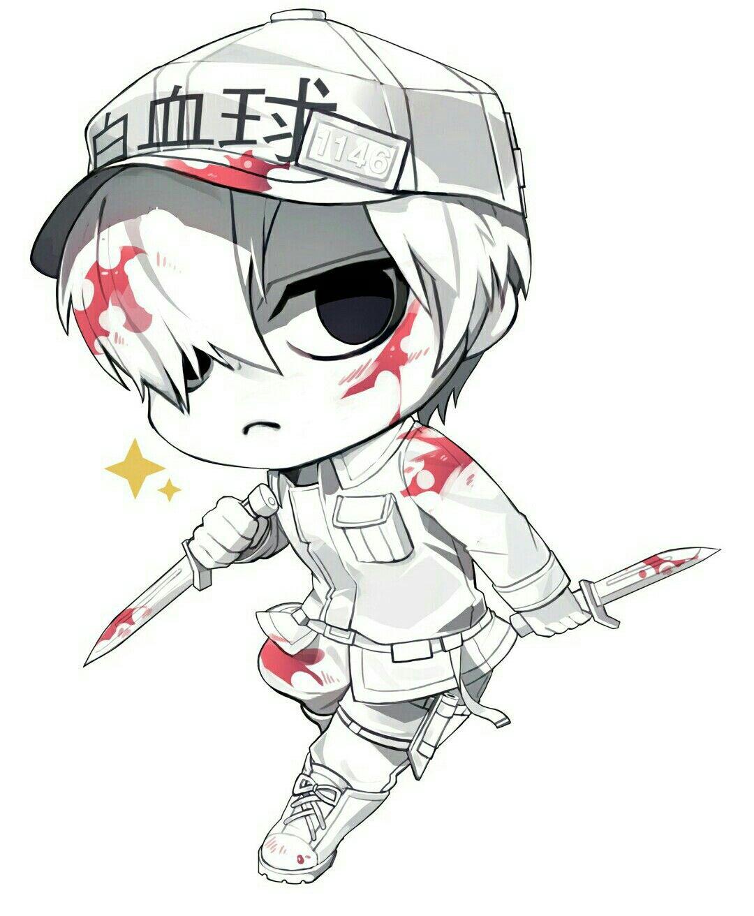 Te gusta el anime Hataraku Saibou? No encuentras muchas