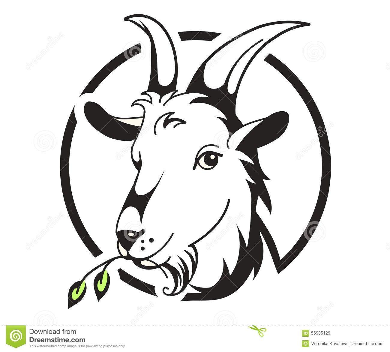 Pin By Olga Zaharova On Christophe Goat Art Goat Picture Goat Logo