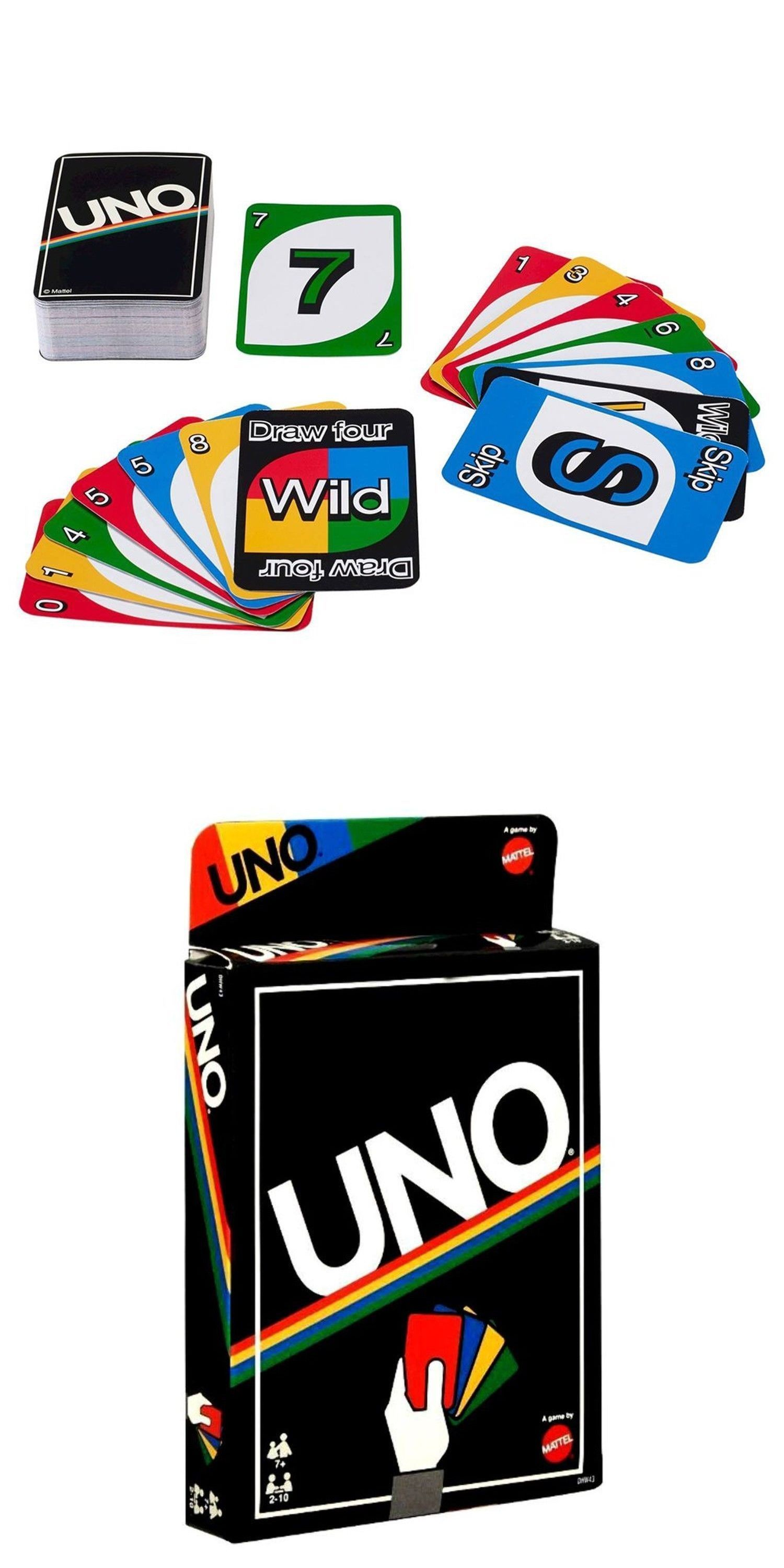 Card Games Contemporary 19082 Uno Retro Card Game Retro Edition By Mattel Brand New Buy It Now Only 14 98 On E Blink Card Game Uno Card Game Uno Cards