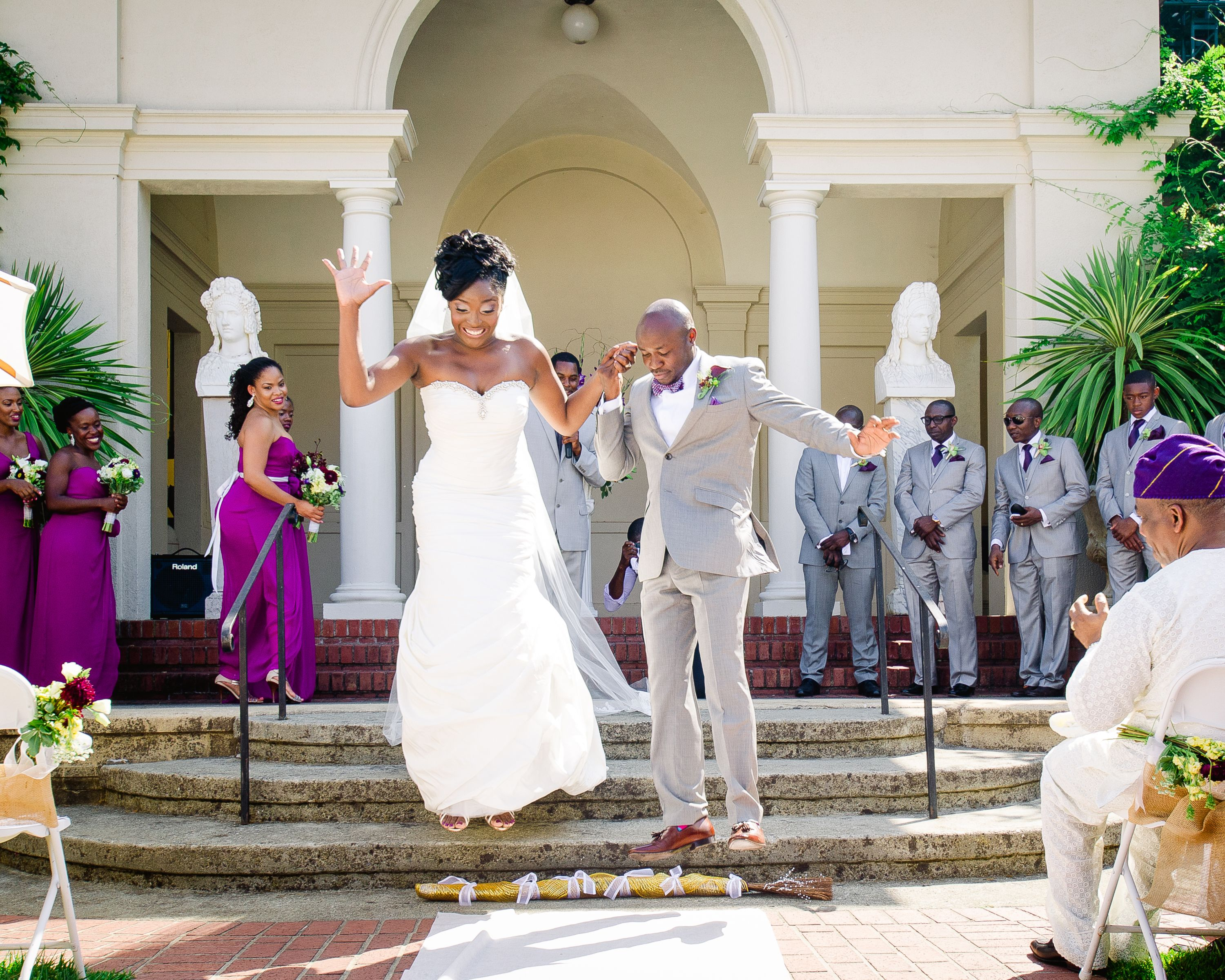 5 African-American Wedding Traditions | Ike and Tash Photography and Motion | Theknot.com