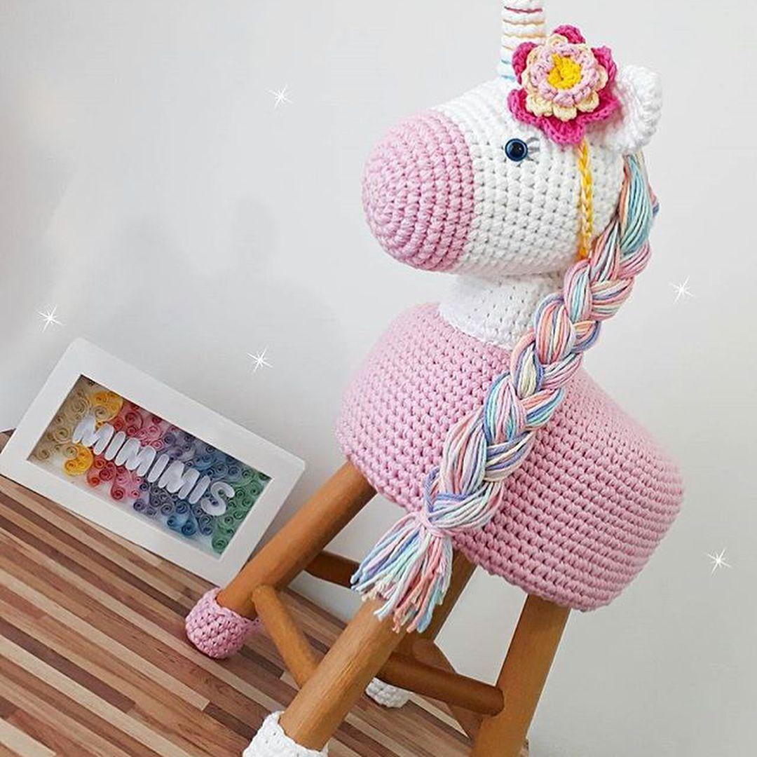 Resultado de imagen para cavalo banqueta amigurumi | Crochet ...