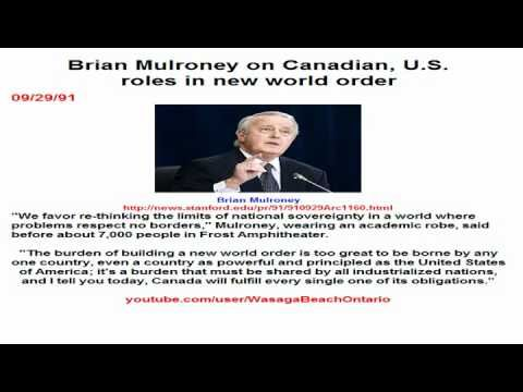 Brian Mulroney on Canadian, U.S. roles in new world order