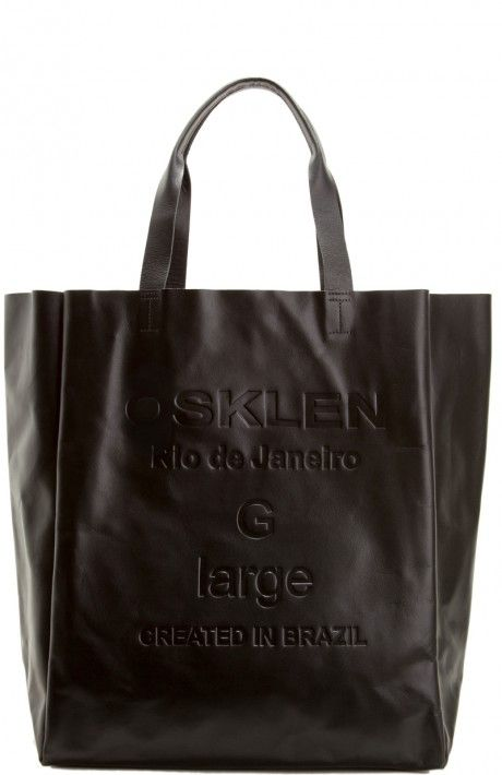 eb70c5ce3 Osklen - BOLSA COURO TOTE LARGE - bolsas - women | Sapatos e bolsas ...