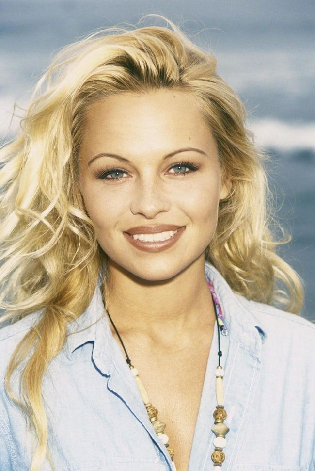 Young Pamela Anderson in Blue  is listed (or ranked) 12 on the list 21 Pictures of Young Pamela Anderson