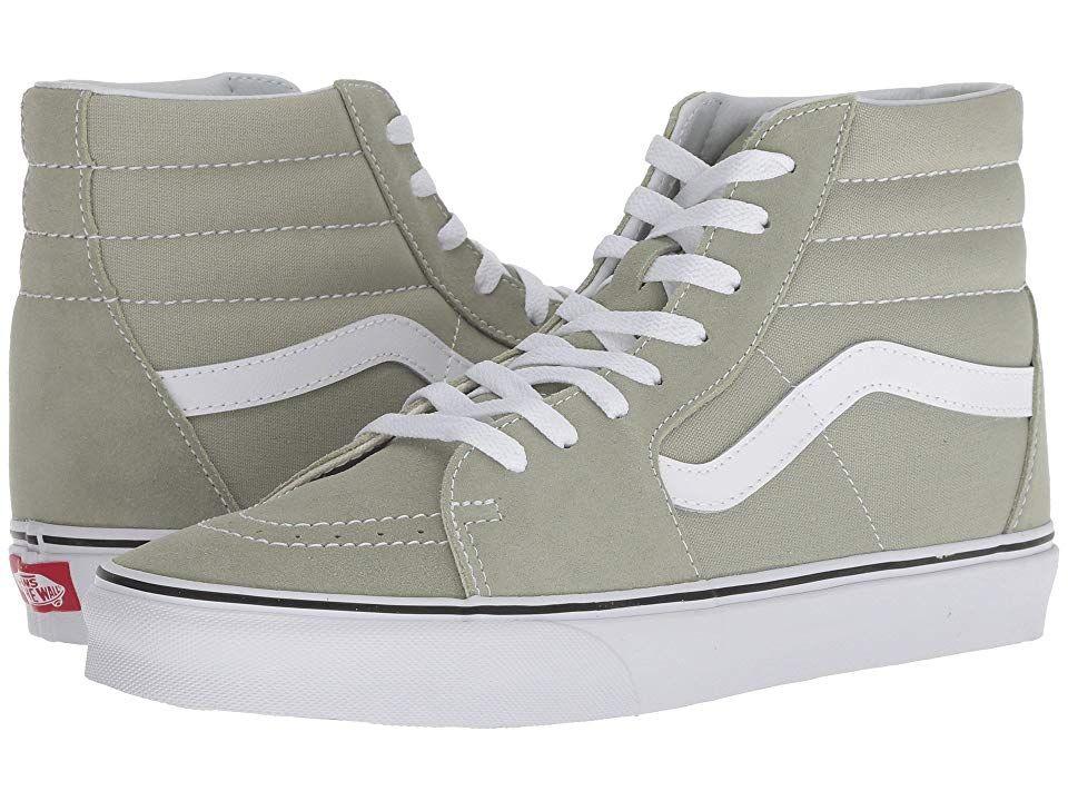 c5ae637b07 Vans SK8-Hitm (Desert Sage True White) Skate Shoes. Keep it old ...
