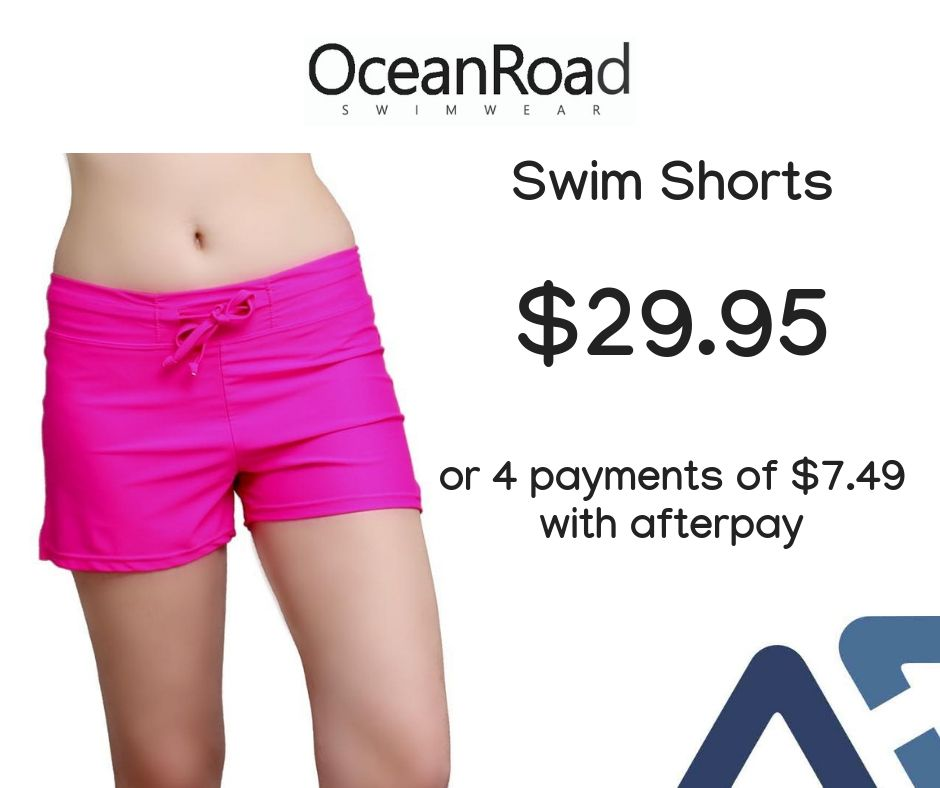 bed1ad5696 These womens swim shorts with built in brief come in a hot Pink colour and  are
