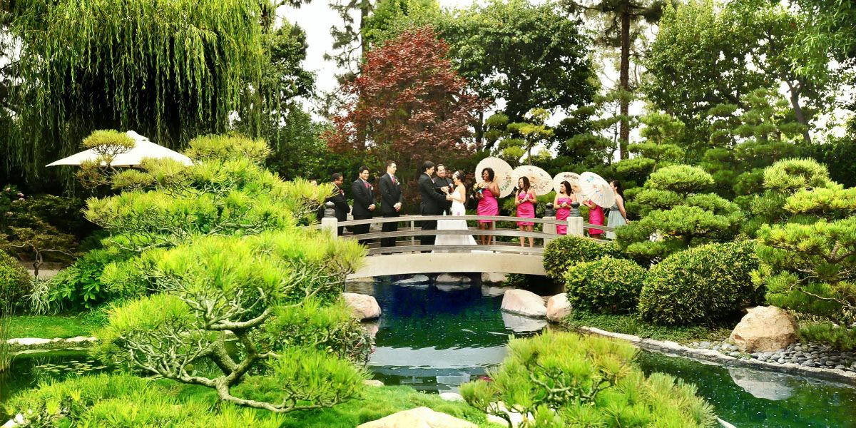 Earl Burns Miller Japanese Garden Weddings Price out and compare