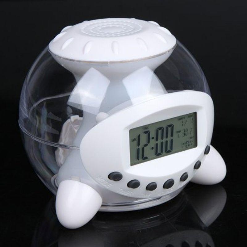 Coloring for Kids kids color changing alarm clock : Kids Clock Digital Alarm Clock Small Travel Alarm Clocks 7 Color ...