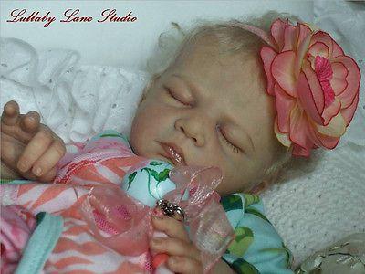 "Ultra-Realistic Gotzen L. E.  ""Caspar"" reborn by Lullaby Lane-sweet baby girl!"