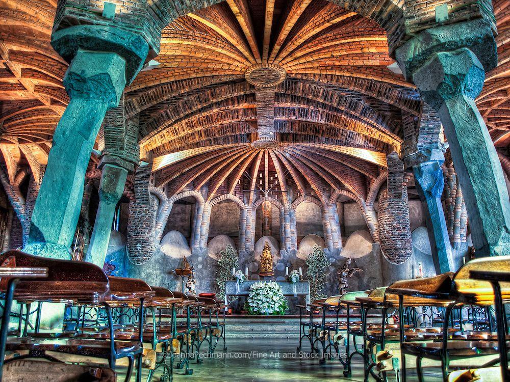Antoni Gaudi- Crypt (church)- Public Art- 1908-1914 ...
