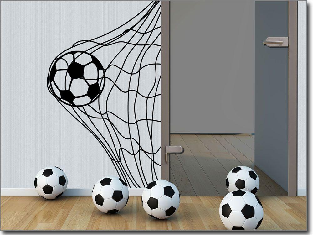 Wandaufkleber Fußball Wandtattoo kinderzimmer junge
