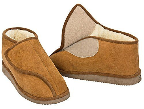 Unisex Soft Sole Tan Lambswool Moccasins Free Returns Mens /& Ladies Slippers