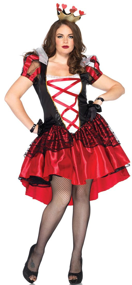 Queen of Hearts Costume Ideas Pinterest Costumes, Queens and - halloween costume ideas plus size
