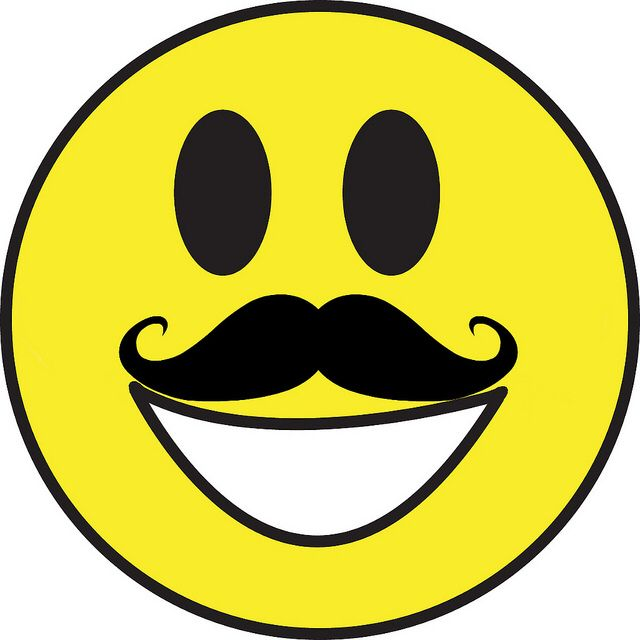Pin By Elvira Fontes On Mastashs Funny Smiley Mustache Art Smiley