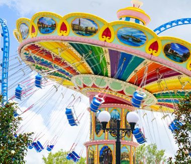 Rides The Park At Owa Foley Al Park Theme Park Foley Alabama