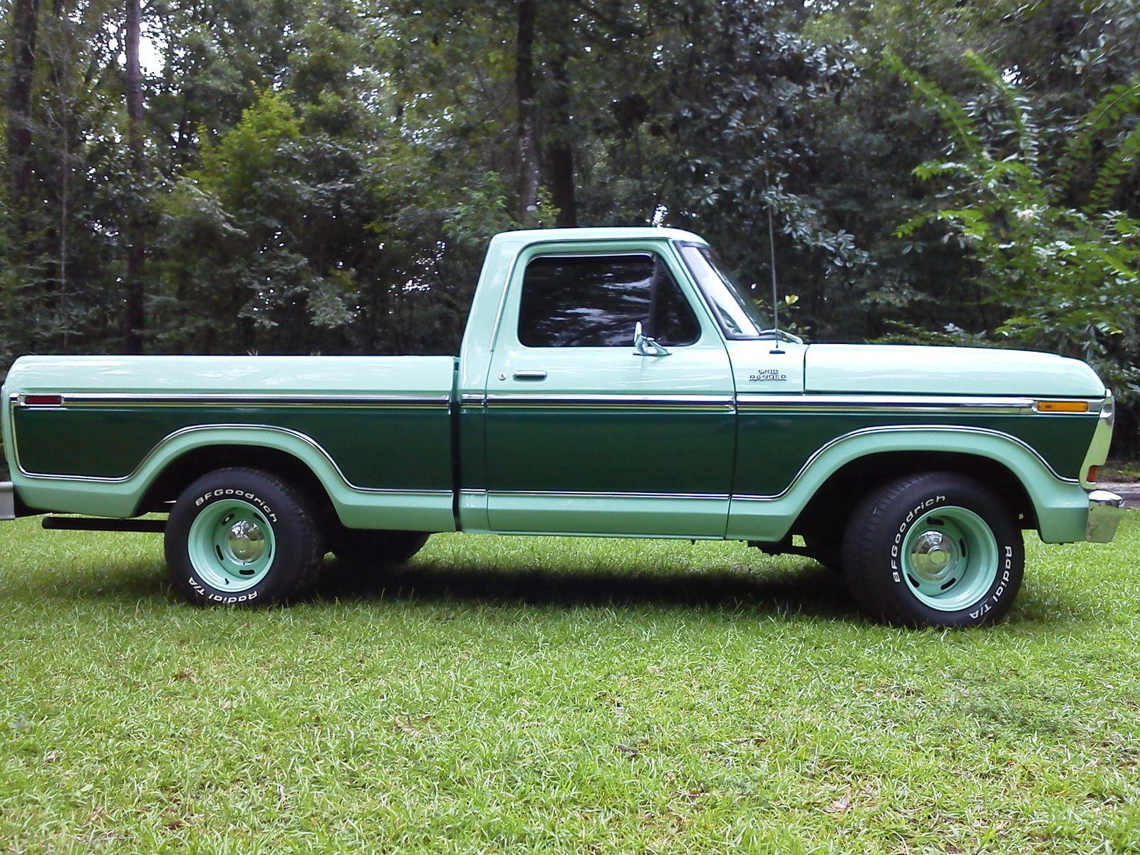 1978 Ford F100 Ranger Classic Ford Trucks Old Ford Trucks Ford Trucks
