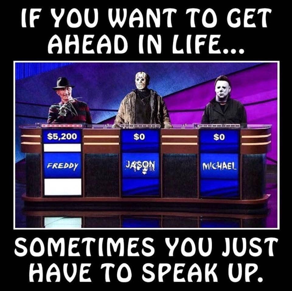 Horror Humor Horror Movies Funny Funny Horror Horror Movies Memes