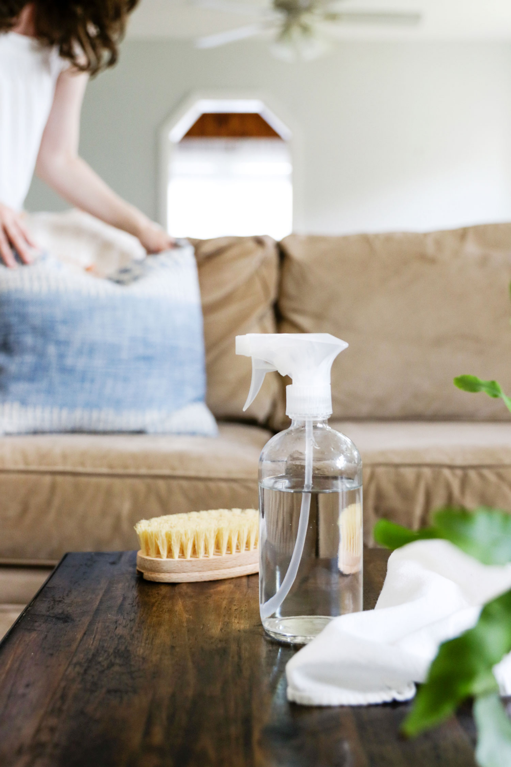 How to Clean a Microfiber Couch | Hello Nest