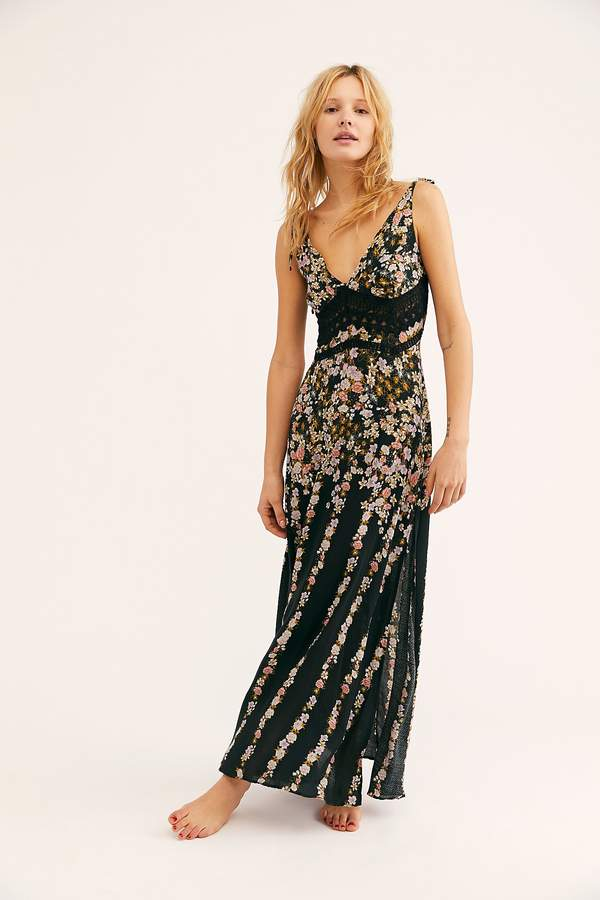 041952c3bfc Shop Free People s selection of night dresses. Intimately Claire Printed  Maxi Slip
