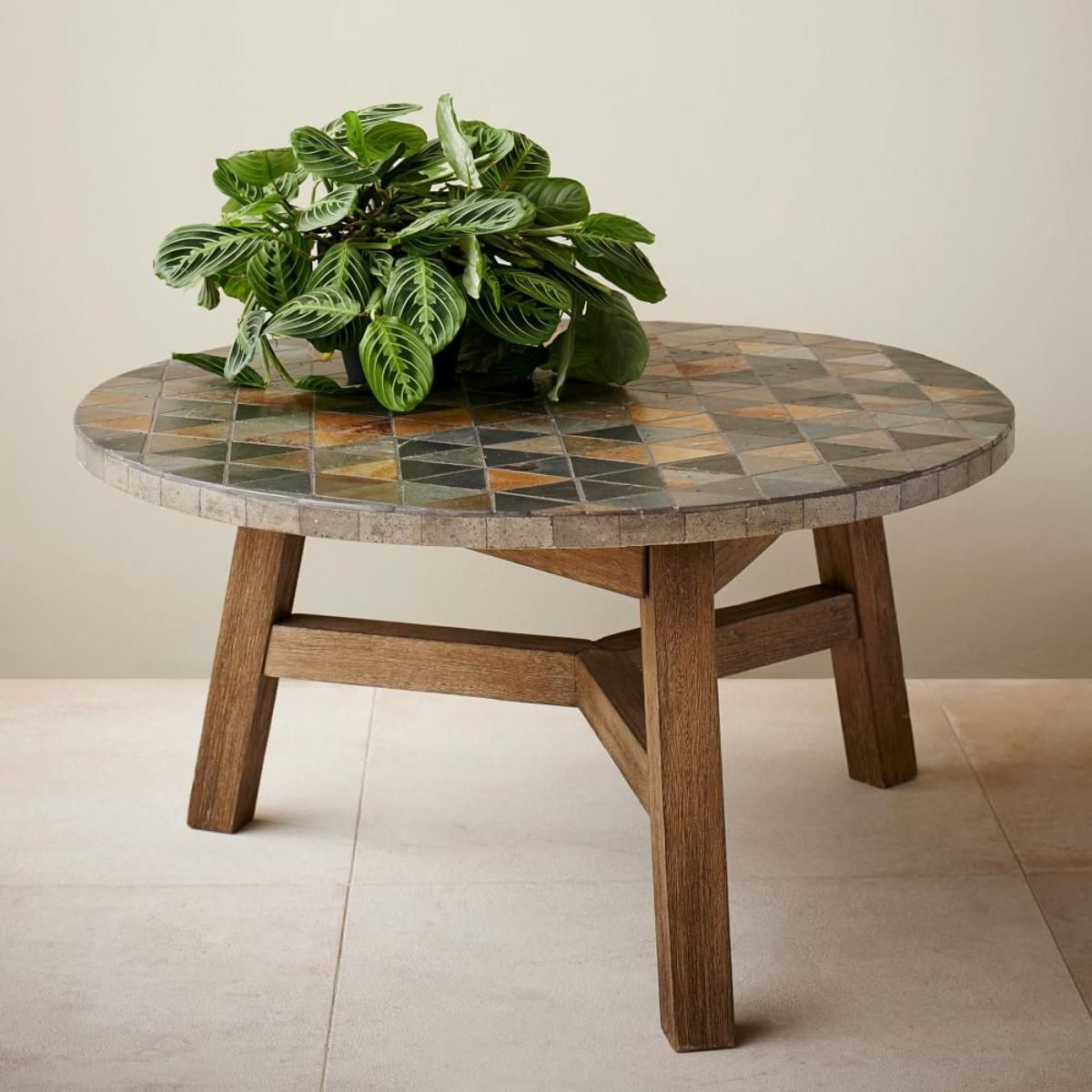 44++ West elm mosaic tiled outdoor coffee table inspirations