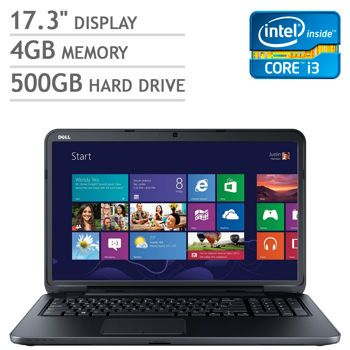 Costco: Dell Inspiron 17 Laptop Intel® Core™ i3-3227U 1.9GHz