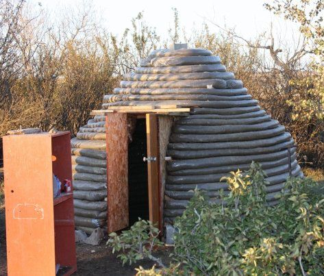 Earthbag Building: An Earthbag Sauna More