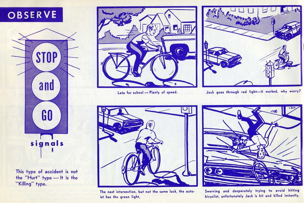 Macabre  Bike Safety Manual  Bicycle Safety