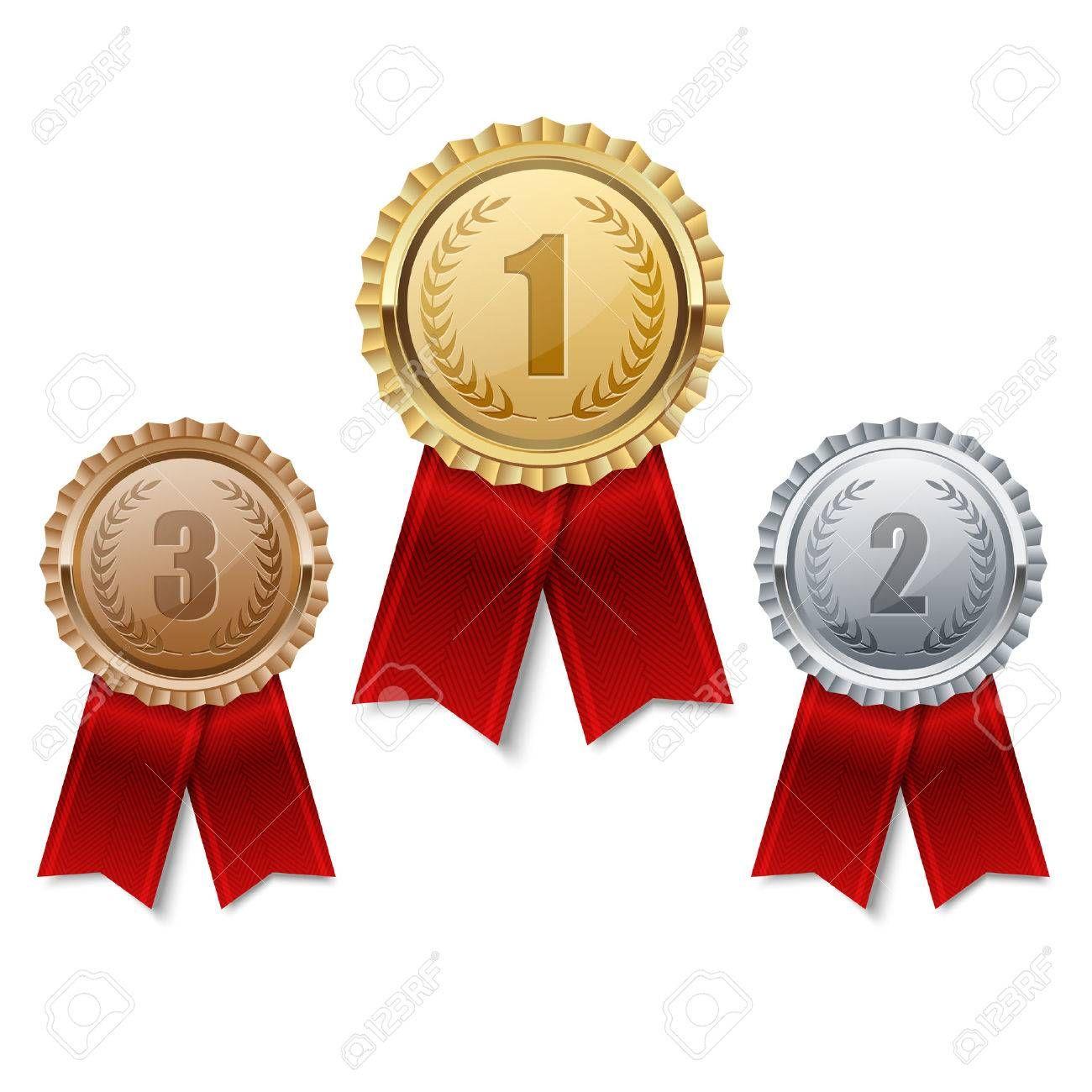 Set Of Gold Silver And Bronze Medals Aff Gold Set Silver Medals Bronze Certificate Design Template Digital Graphics Art Photoshop Design