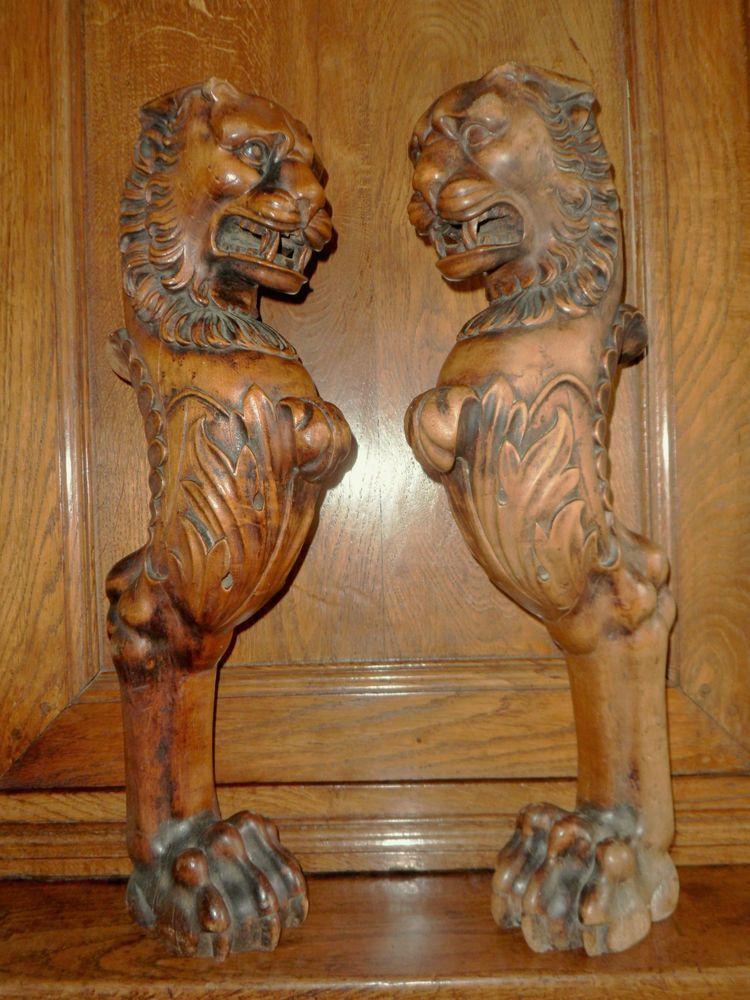 Nice Lion Monopodia And Paw Feet Legs