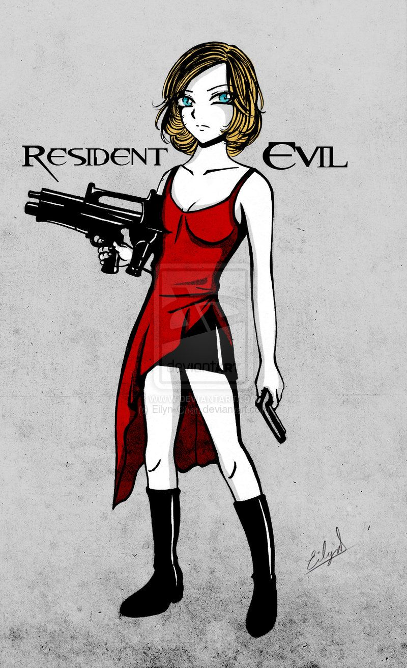 Resident Evil Alice By Eilyn Chan Resident Evil Alice Resident Evil Resident Evil Collection