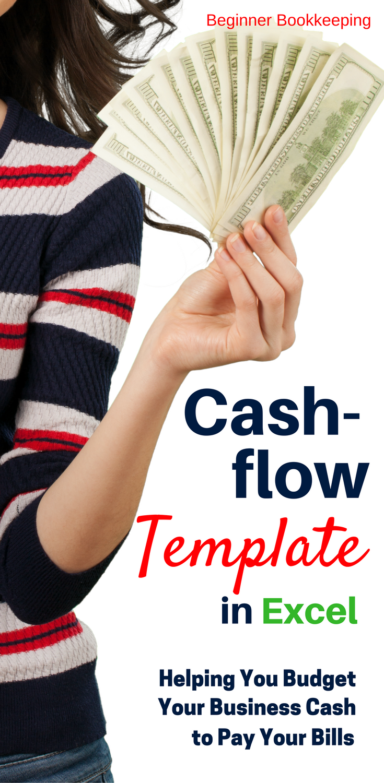 Cash Flow Form My Business Pinterest Excel Budget Microsoft