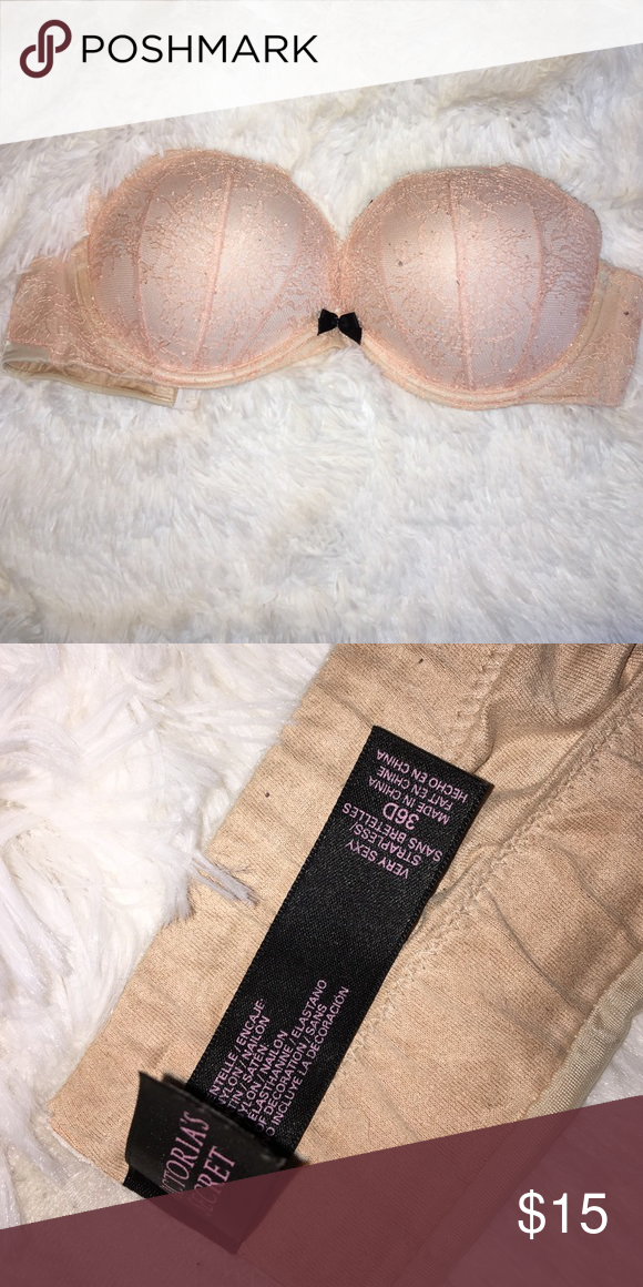 Victoria Secret Very Sexy Strapless Push Up 36D Victoria Secret Very Sexy Strapless Push Up 36D  straps NOT included Intimates & Sleepwear Bras