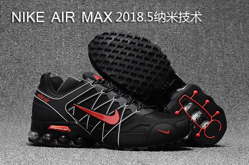 1275891b99d4 Nike air max 2018.5 men black white red wholesale cheap price