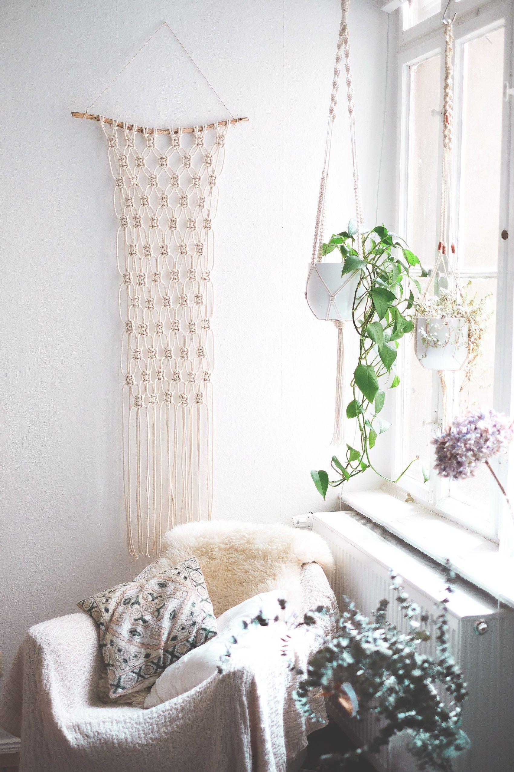 Super Easy Step By DIY Macrame Wall Hanging Tutorial