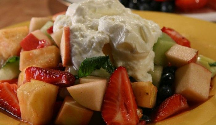 Fruit salad with middle eastern syrup good chef bad chef food fruit salad with middle eastern forumfinder Images