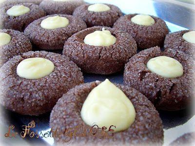 Menta e Cioccolato: Le Fossette Golose ...quando le mangi vai in estasi!!!!
