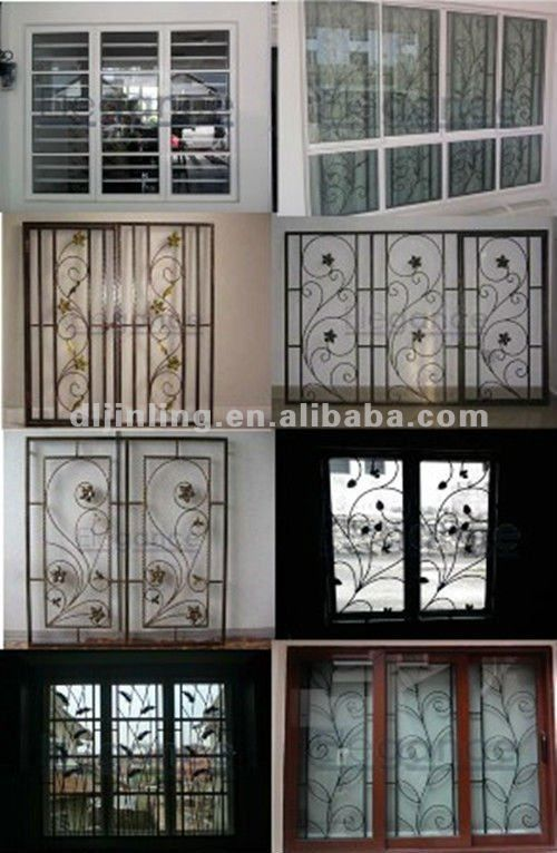Grille designs logi pinterest window grill design grill design and window design - Modern window grills design ...