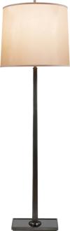 PETAL FLOOR LAMP WITH BRONZE MIRROR BASE