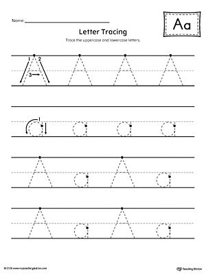 Letter A Tracing Printable Worksheet Printable worksheets - printable worksheet