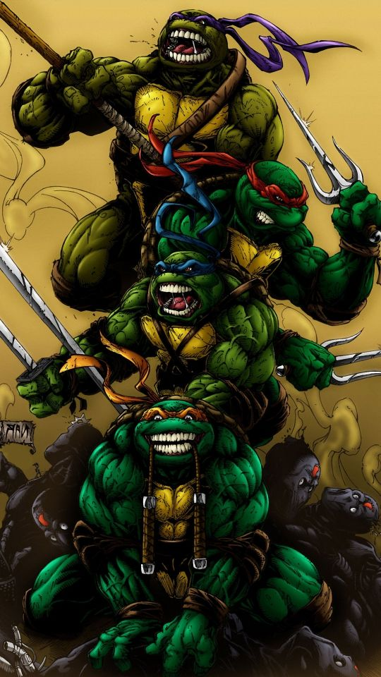 Teenage Mutant Ninja Turtles Wallpaper For Iphone Iphone 540