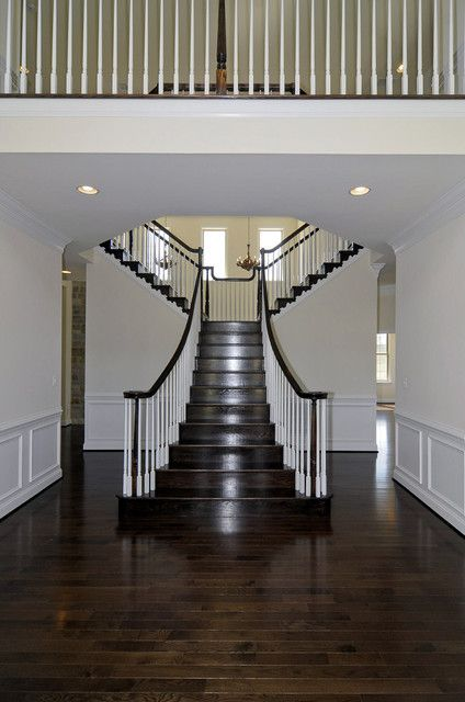Best Split Staircase Traditional Staircase Double Staircase 400 x 300