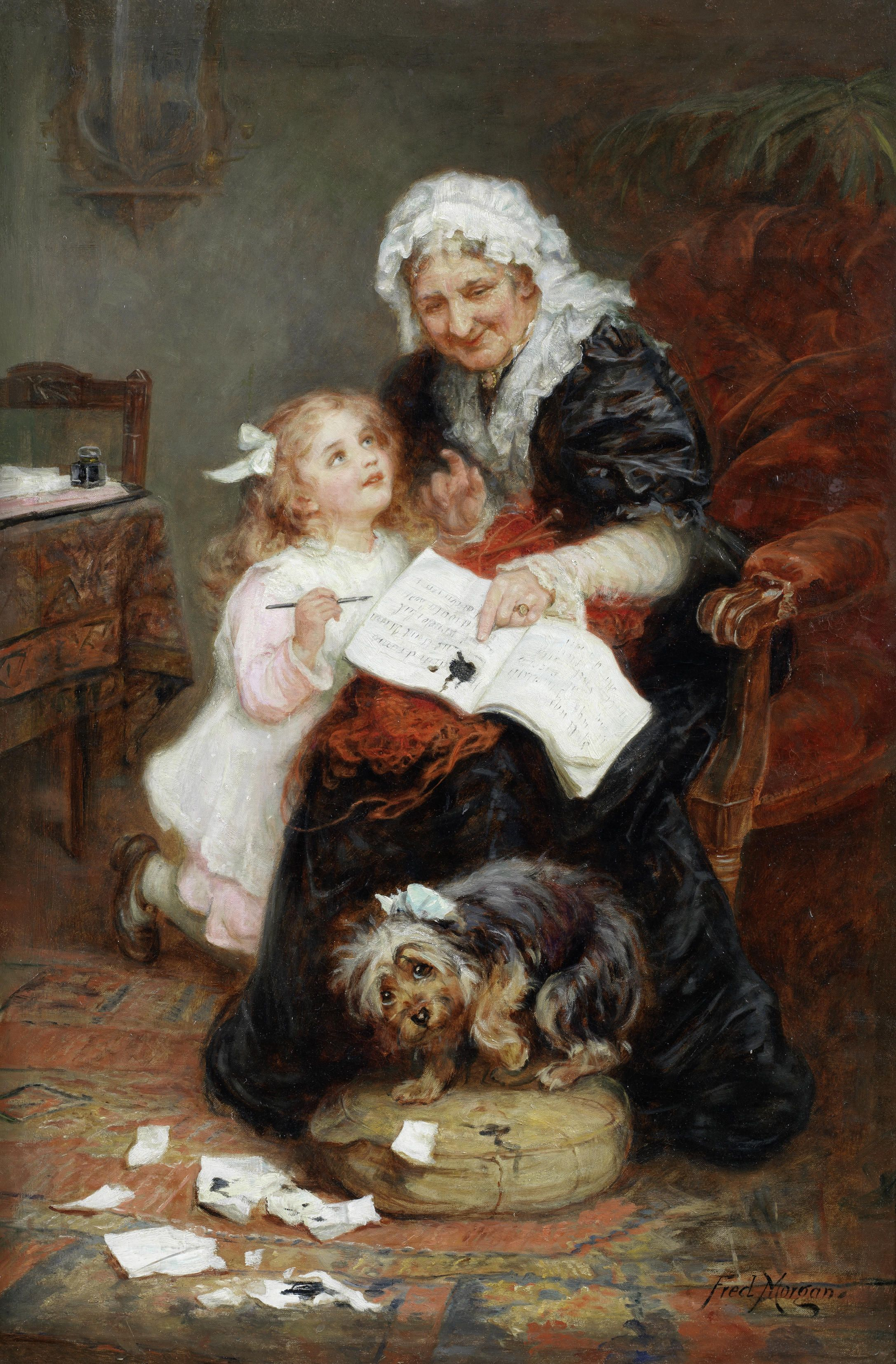 File service dress blues jpg wikimedia commons - File Frederick Morgan The Penitent Puppy Jpg Wikimedia Commons Commons Wikimedia