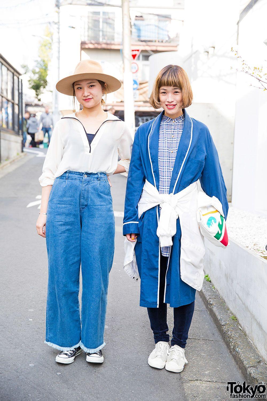 Harajuku Girls in Wide Leg Pants | Japanese street fashion ...