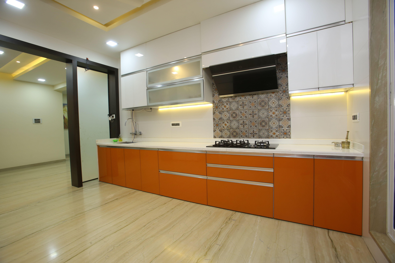 Designer Marine Ply Kitchen With Fully German Hardwarre Kitchen Design Best Kitchen Designs Kitchen