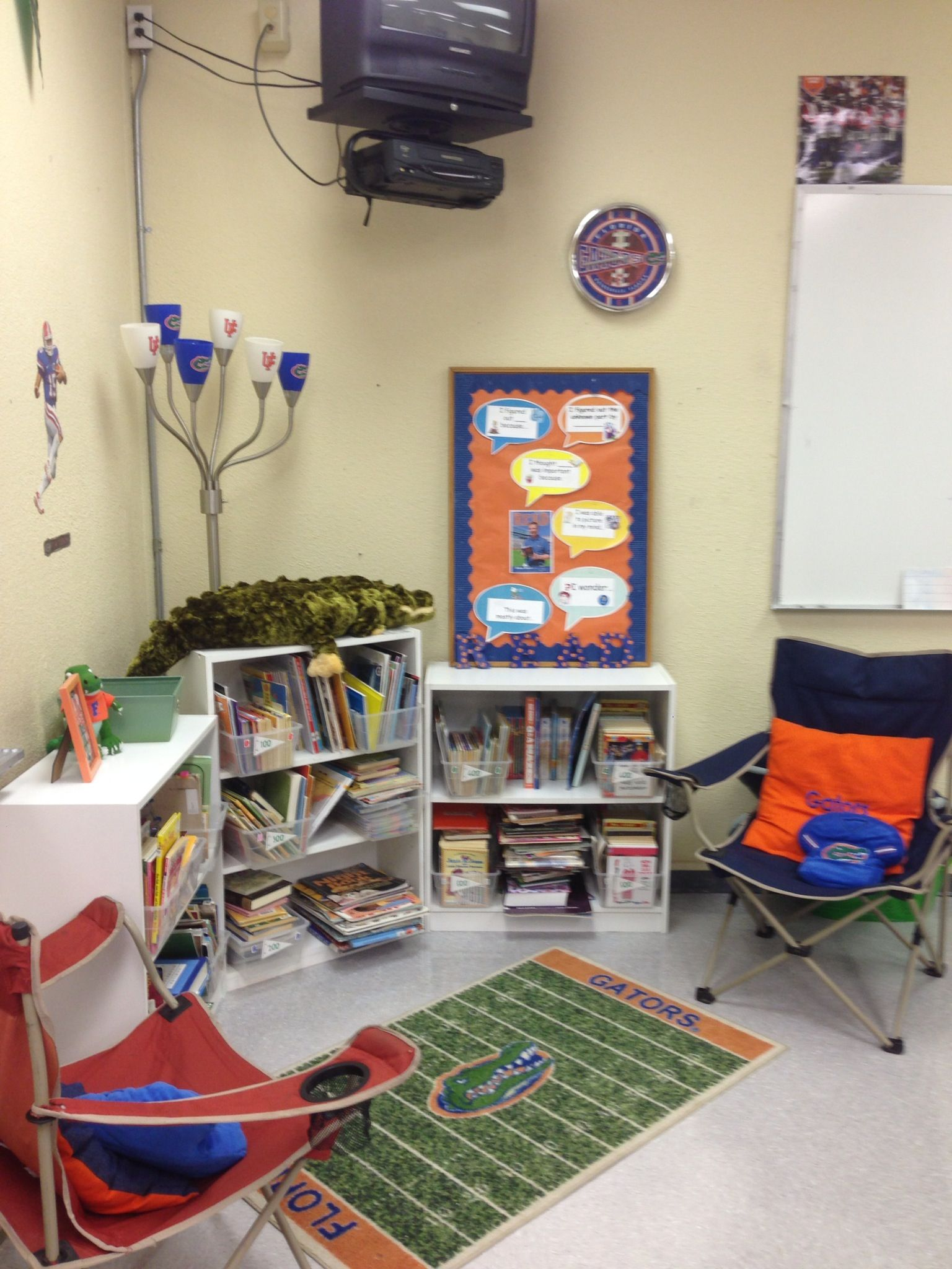 The Swamp reading area